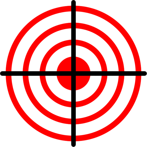 Cropped Liberty Defense Logo Target Crosshairs And Transparent Background Png Liberty Defense